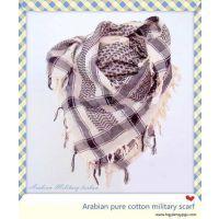 全棉军用头巾Arabia pure cotton kerchief / 阿拉伯彩色打结头巾