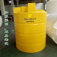 热卖加药箱 3吨塑料化工桶 PE搅拌罐 水处理加药箱 淮安