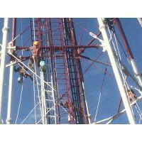 电视台铁塔除锈刷油漆防腐维护-施工方案
