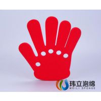 手掌海绵,海绵手指,彩色海绵手掌
