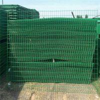 贵州双边丝护栏网供应 圈山围地栅栏 1.8米绿色网栏