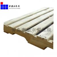 黄岛实木托盘厂家定制出口熏蒸松木托盘四面进叉