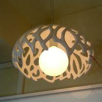现代简约鸟巢客餐厅吊灯玛斯欧灯饰树脂单头新款灯具MS-P1007S暖光色温艺术珊瑚吊灯