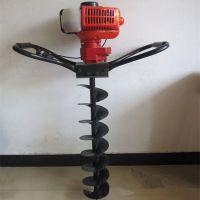 道路柱桩打洞机 汽油植树挖坑机 电线杆挖坑机