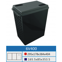 6V400AH专用铅酸蓄电池壳深圳市高能可五金塑胶