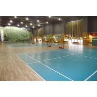 批发供应pvc运动地板LR-W010,承接网球场塑胶地板工程,路瑞弹性地面服务商