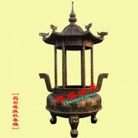 温州优质香炉厂家铸造陵园大型圆形铁香炉