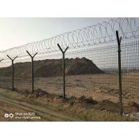 机场防护围栏网/北京机场热镀锌防腐蚀护栏网价格
