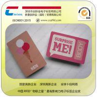 创新佳制卡厂pvc材质服装吊牌卡,可定制