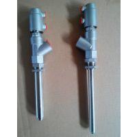 供应灌装机用阀门 气动角座阀加长杆 DN15-27气动灌装阀