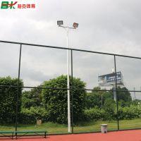 南海户外篮球场7米灯杆价格 专用200Wled灯光 热镀锌灯柱防锈