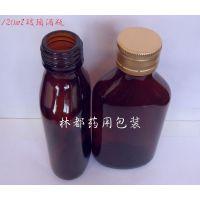 沧州林都供应120毫升棕色玻璃酒瓶