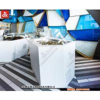 DK定制简约现代自助餐台餐厨设备美食层架