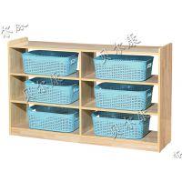 厂家供应 板式储物柜 玩具柜 分区柜 书包柜等幼儿园家具 早教家具