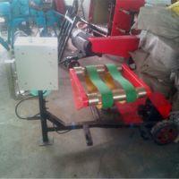 养殖场专供新款青草鲜秸秆包膜打捆机 鼎信现货供应
