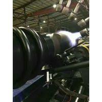 厂家HDPE缠绕增强管 B型克拉管排污排水管安装工艺 承插式电热熔