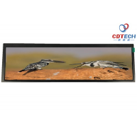 深圳思迪科 供应8.8寸条形液晶屏 1280*320 TFT液晶屏 条形标签显示屏