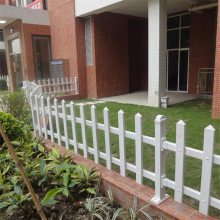 大学校园绿化带栅栏 公园绿化带栅栏 PVC草坪围栏厂家