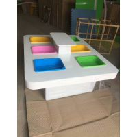 傲宝多格沙桌游乐场幼儿园商场儿童乐园手工桌游戏桌