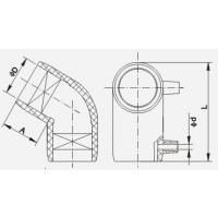 PE管件 全新料 DN20-DN1600 弯头 三通 直通 四通 大口径 PE100