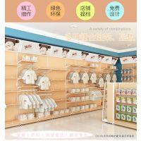 迦美精品钢木超市货架木质展示架便利店母婴店孕婴童展柜展架子展柜