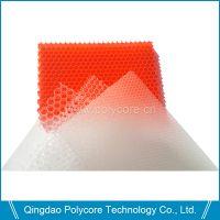 艾思乐防水防霉重量轻强度透光阻燃隔音隔热pc蜂窝新型节能建筑玻璃用材料