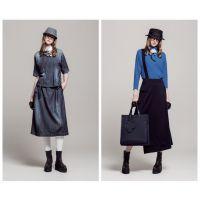 希色时尚品牌女装专柜尾货 羊绒大衣尾货库存货源走份