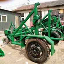 大型电缆拖车 牵引式放线拖车 8吨 洪涛电力 厂家直销