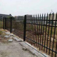 梅州市政三横杆隔离栅 清远抗风围墙栅栏直销 佛山信赖护栏厂家