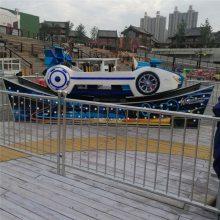 大人儿童可玩八座赛车车型弯月飘车游乐场炫彩设备豪华迷你宝马飞车