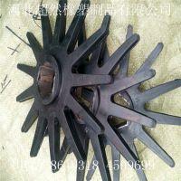 供应玉米剥皮机胶辊 剥皮机橡胶托辊