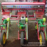 柴油蔬菜种子精播机 单行玉米播种机 链轨双仓多功能施肥播种机
