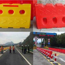 高速公路水马路障价格行情 塑料防护栏批发工厂