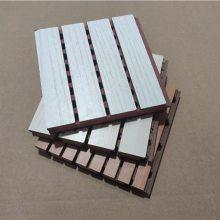 木质吸音板系列防火木质槽孔吸音板厂家