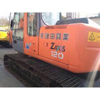 日立二手挖掘机市场低价转让日立zx120原装进口
