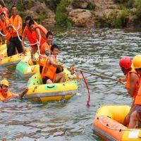 河南易动YD-水上拔河器材厂家直销充气游艺设施 夏季竞技冲关道具
