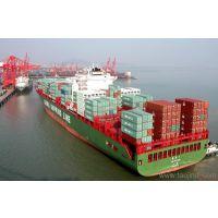 山东枣庄到广西北海集装箱海运的价格 海运时间咨询