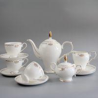 唐山唯奥陶瓷欧式咖啡具套装 陶瓷下午茶杯碟 定制画面加logo