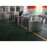 KTV大黔门门头滚弧烧焊铝单板_2.5-3.0厚金色铝幕墙