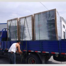 【发货新闻】 石家庄华邦制药厂闭式冷却塔上的PVC进风网窗哪里有卖的 河北华强