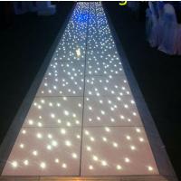 厂家直销 虹美 全白灯跳舞地板砖 LED星空地板砖 亚克力跳舞地板砖 婚庆酒吧舞池