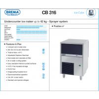 供应意大利冰美牌BREMA TB852 制冰机(碎冰 85KG)及配件