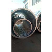 锦坤公路涵洞建设用金属波纹管--西宁波纹涵管生产厂家