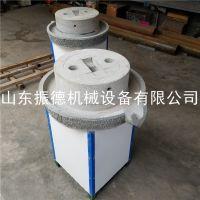 多用途石磨豆腐机 批发新型豆浆石磨机 振德 热销 移动式香油麻汁机