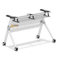 供应深圳众晟家具ZS-BS126钢制多功能折叠培训会议学生桌架