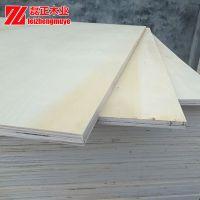 电梯零件包装箱板山东磊正木业一次成型免熏蒸杨木整芯包装板