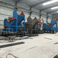 全自动1600废旧金属压块破碎机生产线