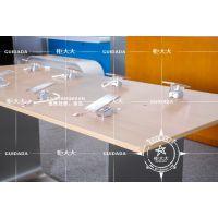 华为3.0木纹不锈钢体验台