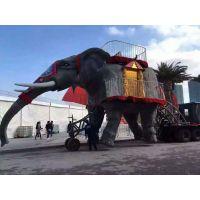 欢域 大型机械大象巡展 出租租赁