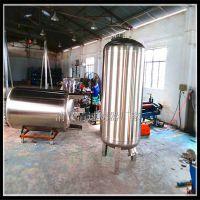 民权县正品304 316不锈钢石英砂机械过滤罐清又清大流量大型污水预处理净化